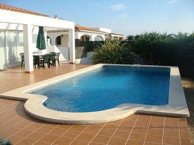 Photo for Detached Villa with Private Pool and Air Con in Perfect Location.