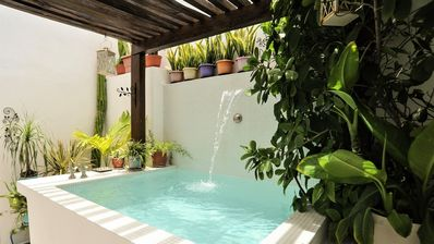 Photo for CASA NAAJ 1 - Delightful apartment in the Center with Patio and Private Relaxation Pool