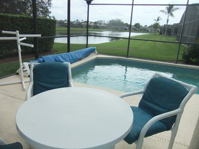 Photo for Lake View Villa with private pool and 4 Bedrooms, gated Resort close to Disney.