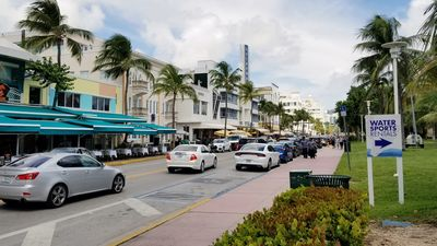 THE BUILDING ON OCEAN DRIVE