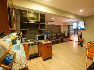 Photo for Fully furnished loft condo w/ 2BR near airport