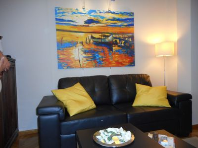 Photo for Center 1  apartment in Kolonaki with WiFi, air conditioning, private parking, private terrace & bal…