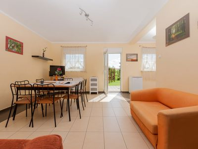 Photo for Ferienhaushaelfte Neptune Lewa / links with two bedrooms and a balcony, WiFi