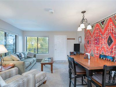 Photo for Comfortable One-Bedroom Condo With Ski Slope Views