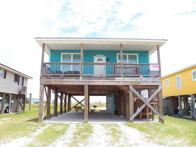 Photo for Pet Friendly, Carpet Free, Beach View, Open Floor Plan. Front and Back Deck