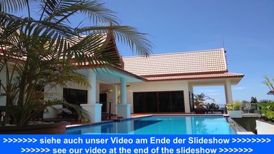 Photo for A dream house with a pool, sea views, a/c, gym,massage, TV, and Wi-Fi