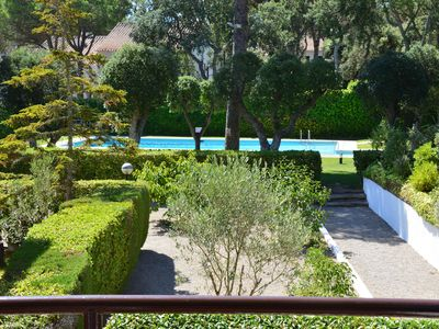 Photo for Apartment with Pool and Tennis.  Beaches and Village nearby.