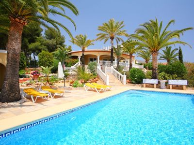Photo for Vacation home Bombilla in Moraira - 6 persons, 3 bedrooms