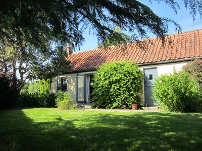 Photo for Converted stables in the Norfolk countryside with  safe enclosed garden.