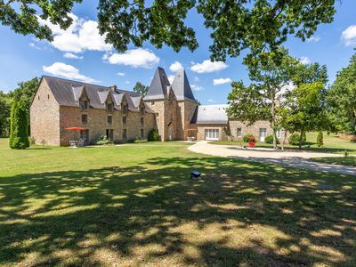 Photo for Manoir de Pléac: spend a holiday in the heart of Romantic Brittany.