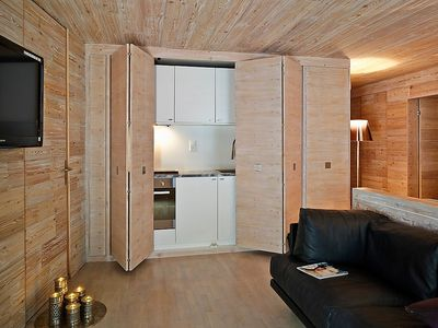 Photo for Apartment 497 m from the center of Saint Moritz with Lift, Parking, Internet, Washing machine (274797)