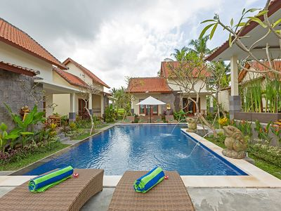 Photo for Bungalow 4 Bedroom separated 8 Guest Kemenuh Ubud