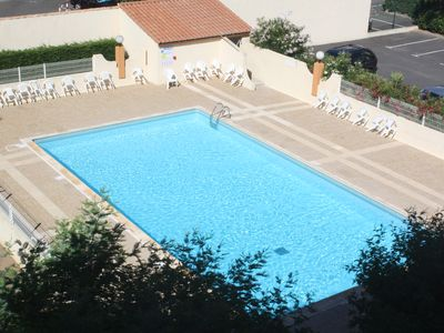 Photo for apartment CAP D'AGDE 8 people pool, sea view, air conditioning, garage optional