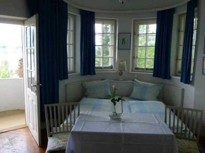 Photo for Double room with balcony - Pension Jörgner