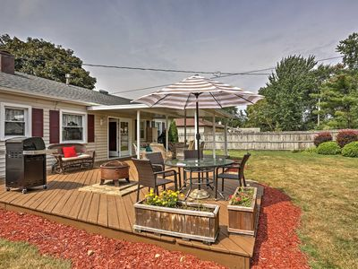 Photo for Renovated Parma Heights Home w/Yard, BBQ & Pergola