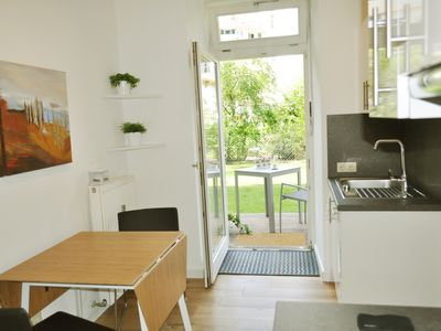 Photo for Apartment with garden in the old town