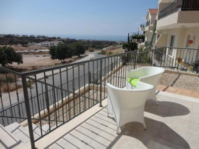 Photo for Superb designer townhouse with see view near Coral Bay