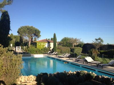 Photo for Charming country house in dry stone in the heart of the Luberon