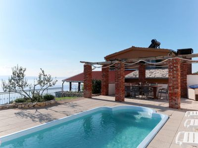 Photo for 3 bedroom Villa, sleeps 8 in Sumpetar with Pool, Air Con and WiFi