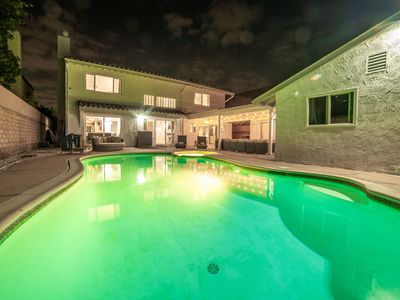 Photo for Luxurious Estate w/ Guest House & Heated Pool+Jacuzzi
