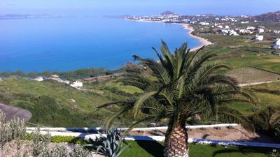 Photo for Villa Agapui in Naxos, stunning sea view,  private pool, 350m from sandy beach
