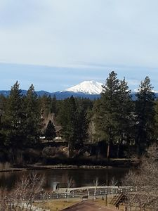Mt. Bachelor and the Deschutes River view from your unit and private deck.