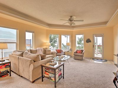 Photo for NEW! Quiet Ocean-View Home 5-Min Drive to Beaches