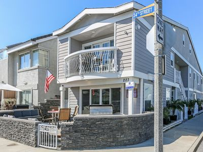 Photo for Condo 2 Blocks To The Ocean - HUGE Patio - Bikes & Boards Included!
