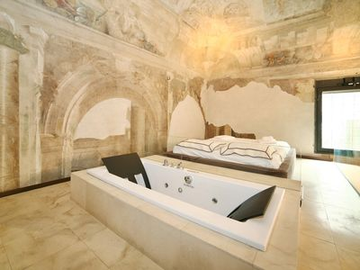 Photo for Wonderful loft with 1500 frescoes