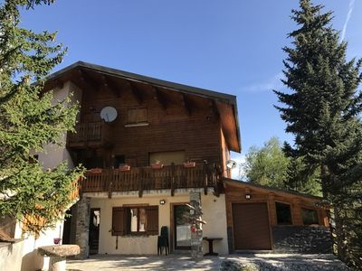 Photo for Boost Your Immo Vars Luxury chalet bottom with Jacuzzi