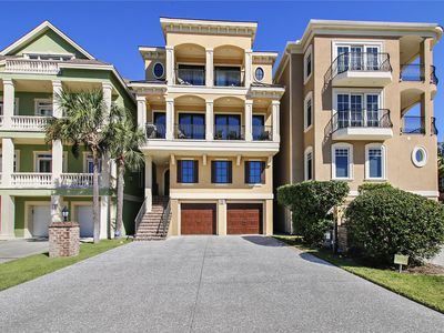 Photo for Oceanview Home, Private Pool, Elevator, Short Walk to Beach!