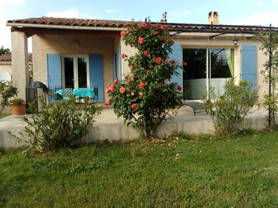 Photo for PEACEFUL VILLA AT THE FOOT OF LUBERON with a SPA
