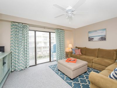 Photo for Spacious 2 Bedroom 2 Bath condo on the water on 47th Street!