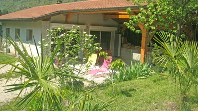 Photo for Ayse: Cottage  with garden 'La Casetta' between Chamonix Geneve  Annecy