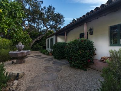 Photo for Quiet Montecito Home with Air Conditioning, close to beaches and lower village.