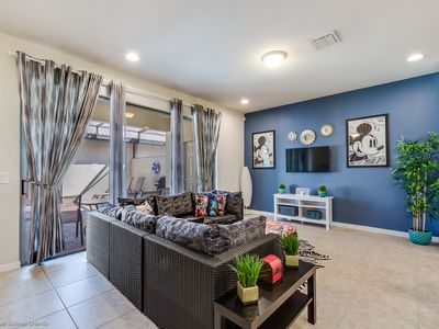 Photo for Townhome with splash pool, just 9 miles from Disney!
