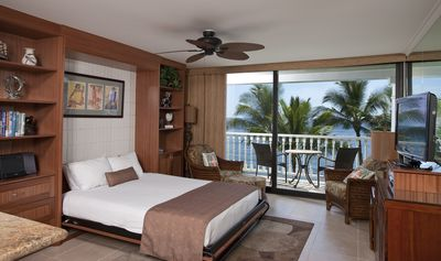 Photo for Premier Oceanfront location, explore Lahaina and stay right on the beach!
