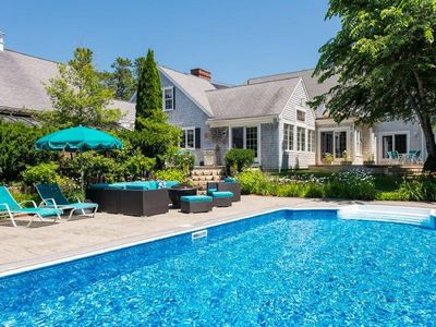 Photo for Osterville Luxury Home With Heated Pool