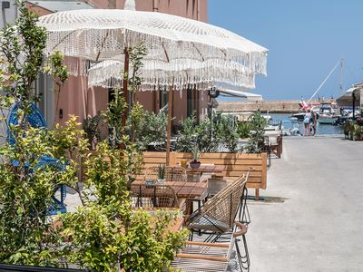 Photo for Stay In the Heart of Chania old Venetian Harbour Crete