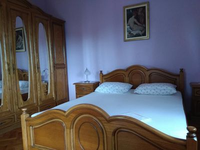 Photo for Two bedroom apartment with terrace and sea view Trogir (A-15349-a)