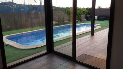 Photo for LLORET DE MAR VILLA WITH PRIVATE POOL FOR 7 TO 9 PEOPLE FREE WIFI