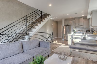 This stylish new Hollywood home awaits you!