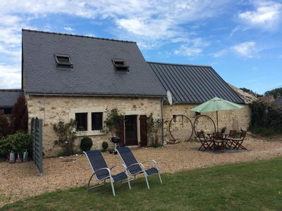 Photo for Luxury gite close to Le Loir, cycle network, chateaux and wine region