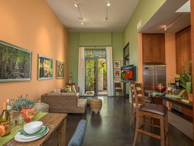 Photo for Casa Brasil - Sleek and Artistic in Downtown Santa Barbara