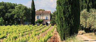 Photo for Superb 18th century Mas with swimming pool in the heart of a vineyard