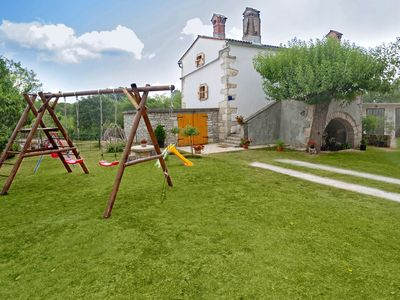 Photo for Holiday cottage Erika * 6000 m2 garden, playground, BBQ, dogs welcome