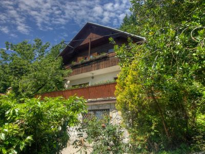 Photo for Detached house with garden, terrace and BBQ, 300 meters from Lake Bled