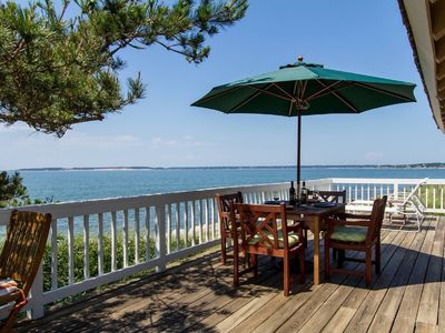 Photo for Spectacular Private Waterfront Cottage on Bayside. Panoramic Views. Pet Friendly