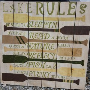 Lake Rules...Can you follow them?