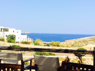 Photo for Homerez last minute deal - Nice house with sea view and terrace